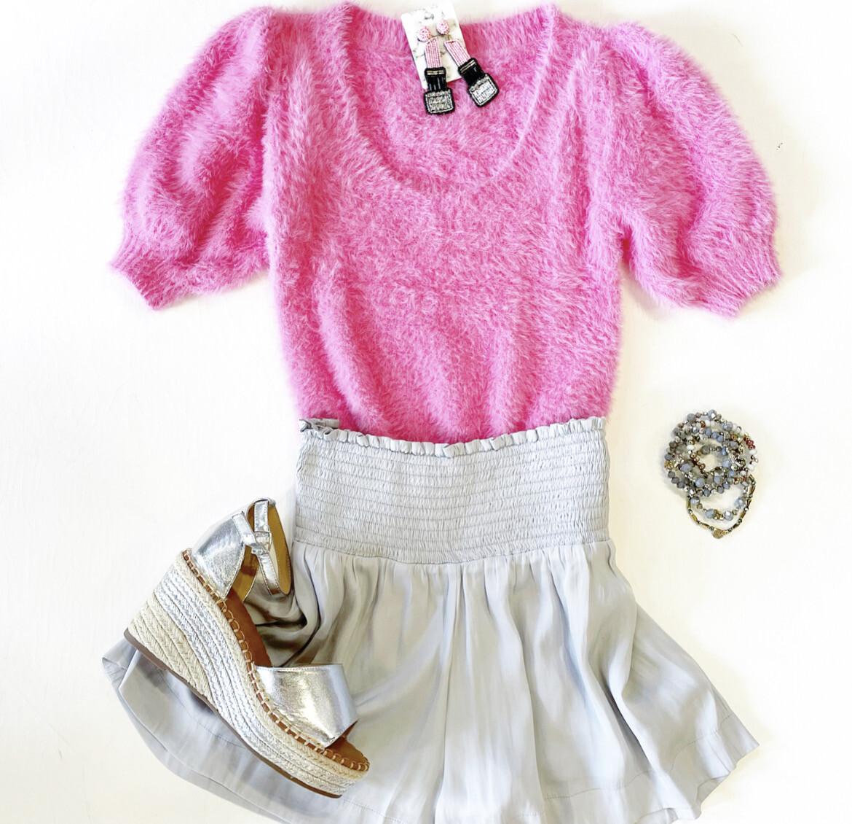 Funny Bunny Fuzzy Knit