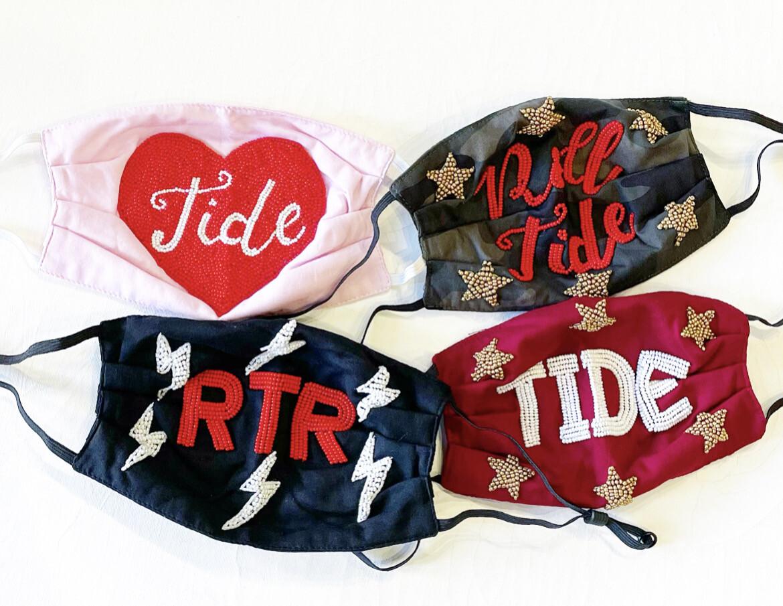 Roll Tide Camo Mask