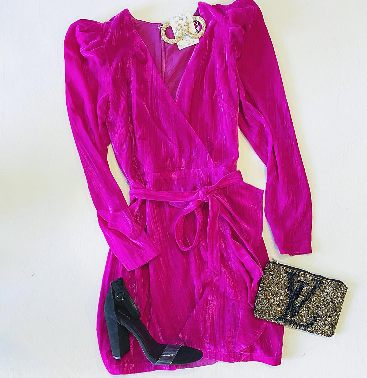 Velvet Dreams Event Dress