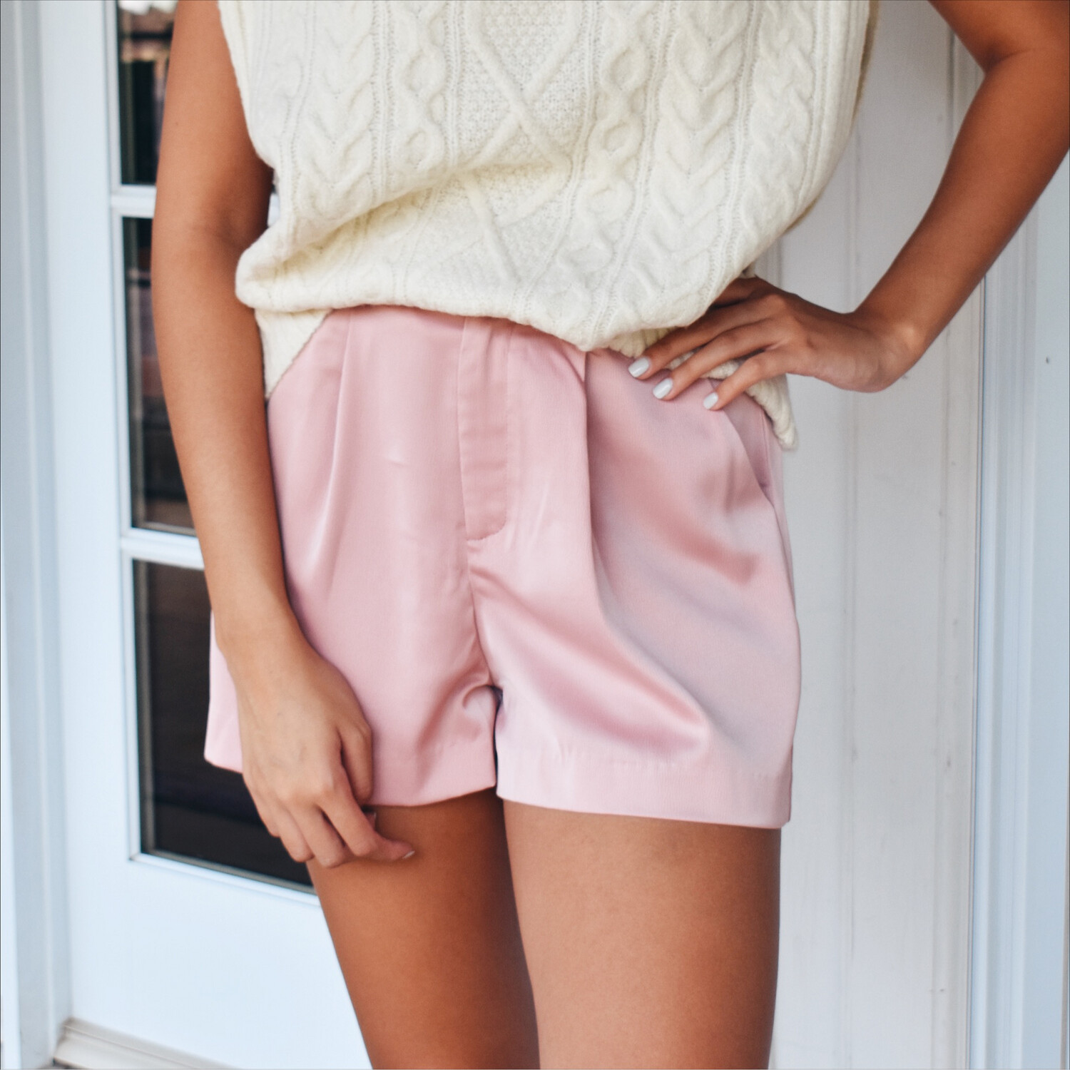 Pink Champagne Silky Short