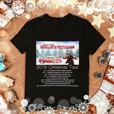 2019 Crooner's Christmas Tour T-Shirt