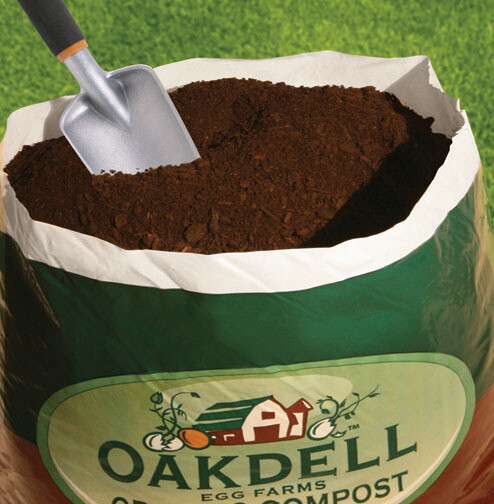 Oakdell Chicken Compost 1 Cu. Ft. bag