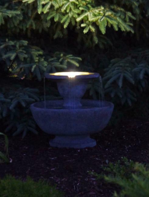 Henri Studios - Alfresco Fountain with lights