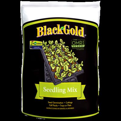 Black  Gold Seedling Mix  8 Qt. bag