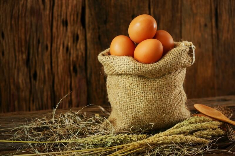 Farm Fresh Eggs (ungraded medium-large)