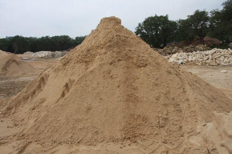 Sand, Construction  1 Cubic Yard