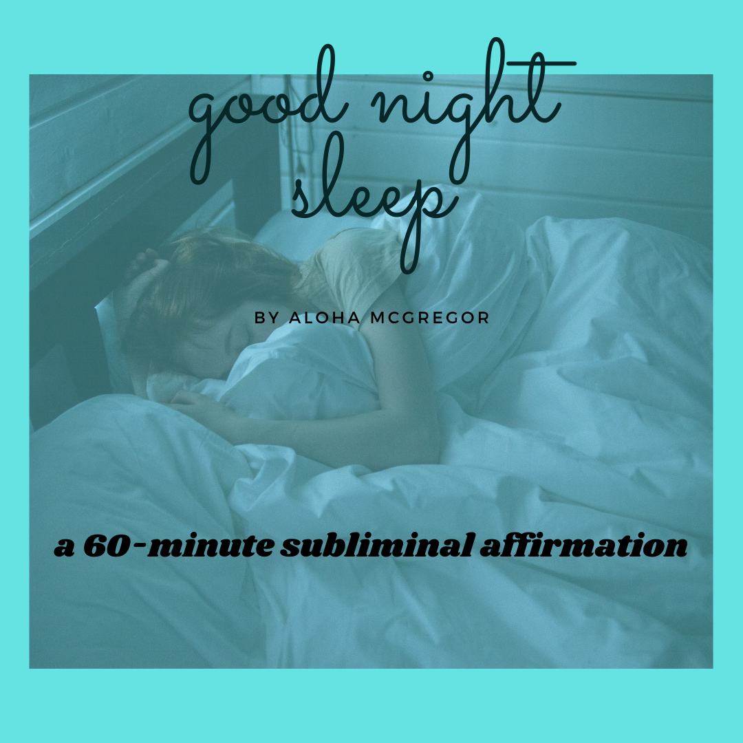 "Subliminal Affirmation ""Good Night Sleep"""