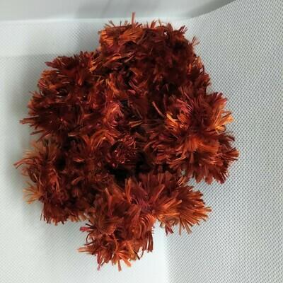 Yarn Scrunchie - Red, Large