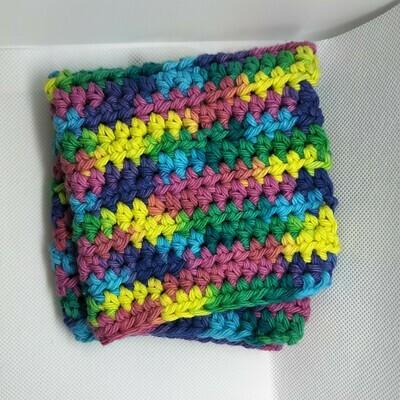Dish Cloth, multi color