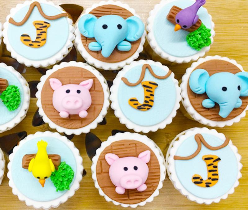 Safari Joy Cupcakes