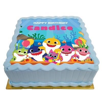 Sharky Celebrates