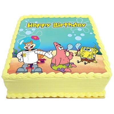 Sponge Birthday