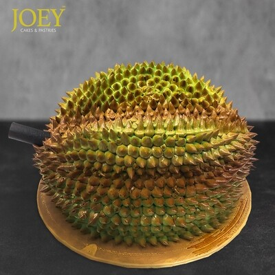 Handcrafted 3D MSW Durian Cake