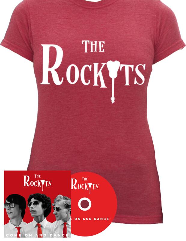 CD + Red Women's T-Shirt | Bundle (Save 15%)