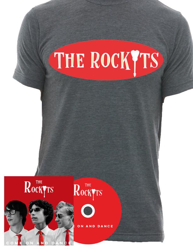 CD + Grey Men's T-Shirt | Bundle (Save 15%)