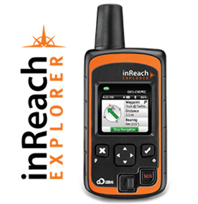 Daily subscription plan for inReach Explorer