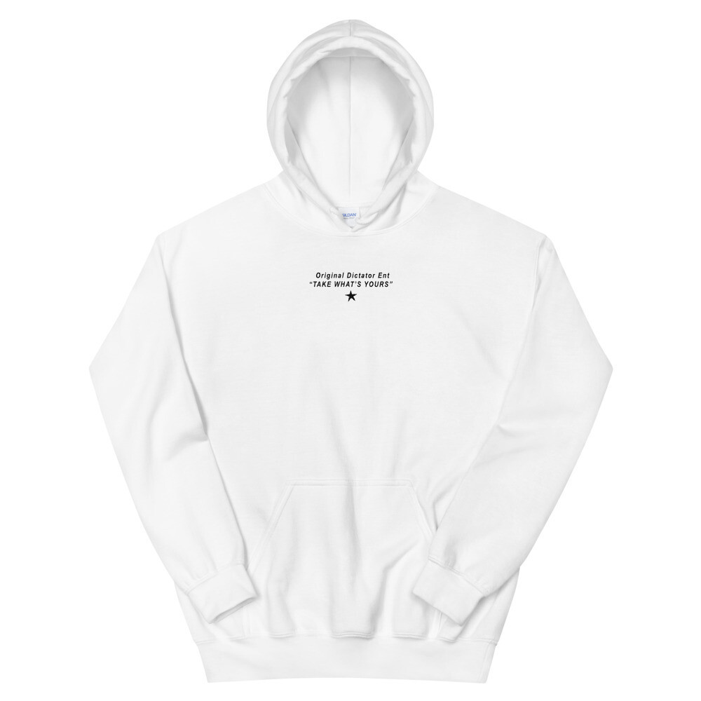ODE Take What's Yours Hoodie (White)