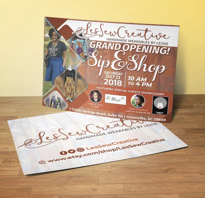 Postcard / Invitation Design (2-sided)