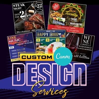 Custom Template Designs