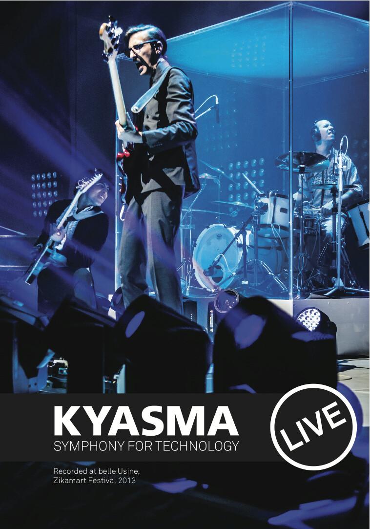 Symphony for Technology live @ Zikamart, belle Usine, DVD