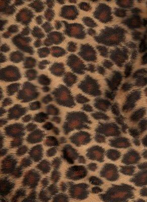 Baby Leopard Faux Fur