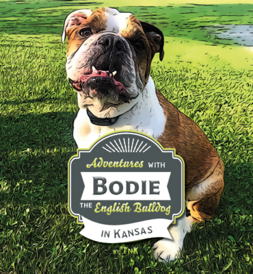 LIMITED EDITION Hardcover: Adventures with Bodie - In Kansas