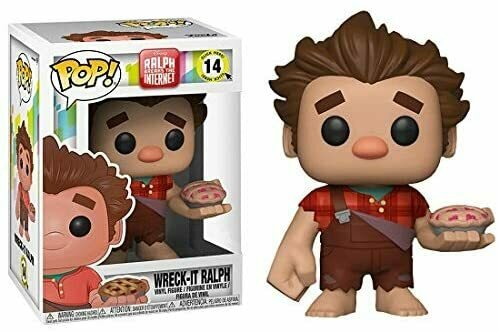 Funko Pop! Disney: Ralph Breaks The Internet - Wreck-it Ralph (Cherry Pie Exclusive) #14