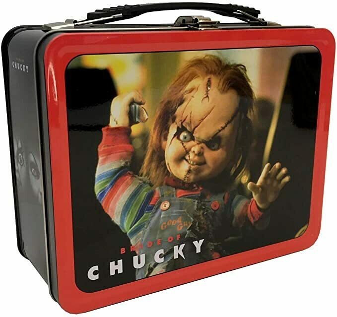"""Factory Entertainment Bride of Chucky Tin Tote, Multicolor, 6"""""""