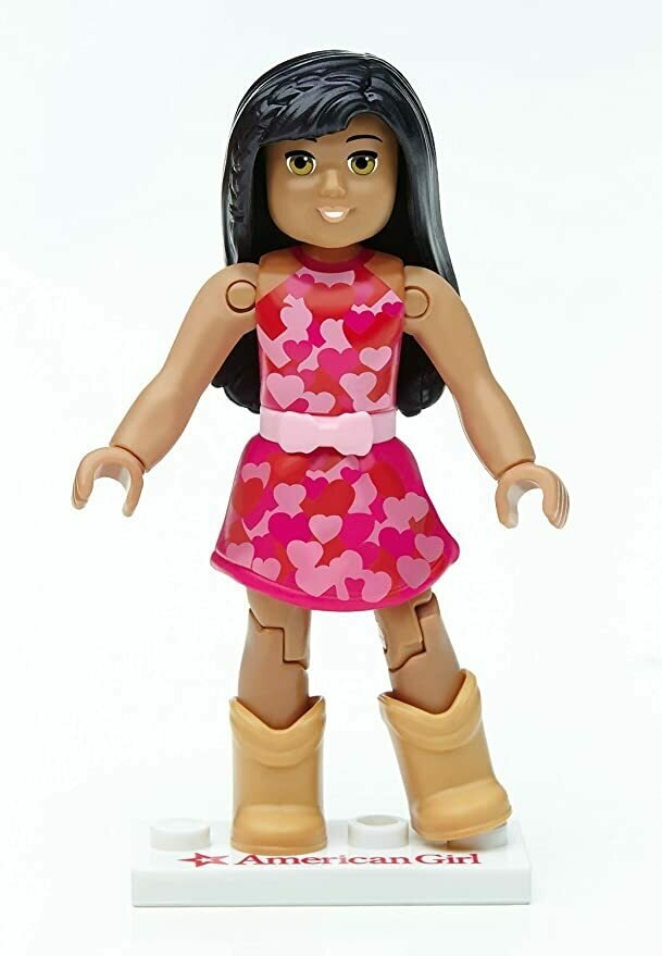Mega Construx American Girl Series 1 Happy Hearts Mini Figure