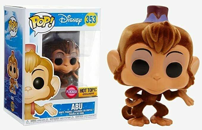 Funko Pop Disney Aladdin Abu Exclusive 353 (Flocked)