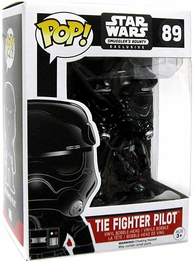 Pop! Star Wars Tie Fighter Pilot Figure Smugglers Bounty Exclusive #89