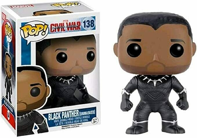 Funko - Civil War - Black Panther Ltd Edition Pop! Vinyl Figure /toys