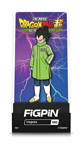 FiGPiN Dragon Ball Super Broly Movie: Vegeta - Collectible Pin with Premium Display Case - Not Machine Specific [video game]