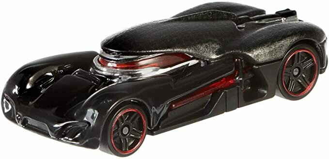 Hot Wheels Star Wars: The Force Awakens Kylo Ren Character Car
