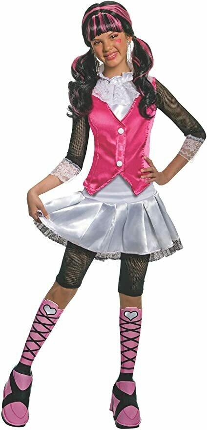 Monster High Deluxe Draculaura Costume - Medium