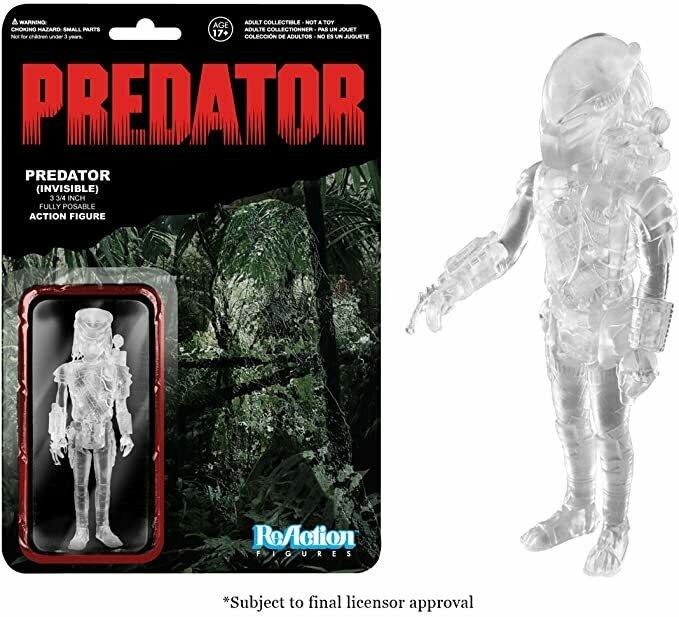 Funko Predator Reaction Figure - Stealth Predator