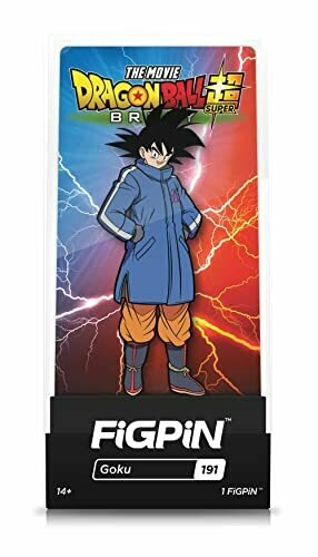 FiGPiN Dragon Ball Super Broly Movie: Goku Classic - Collectible Pin with Premium Display Case - Not Machine Specific [video game]