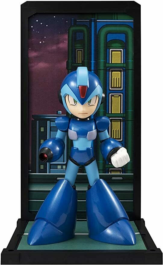 TAMASHII NATIONS Bandai X Megaman Tamashii Buddies Action Figure
