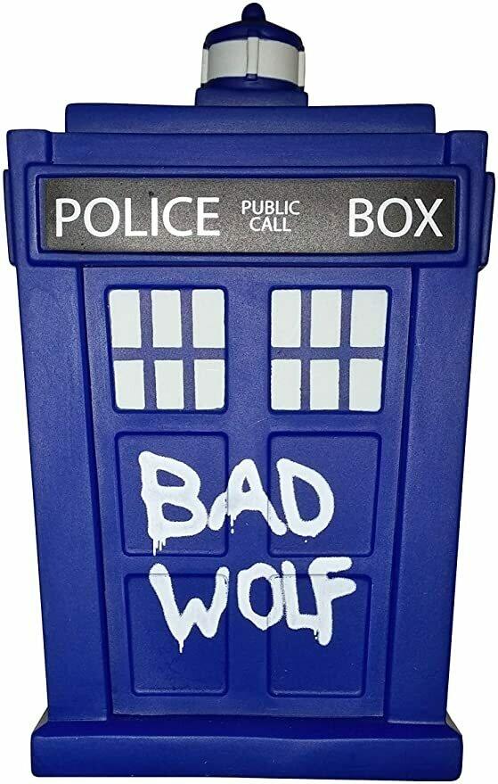 "Doctor Who Titans Bad Wolf TARDIS 6.5"" Vinyl Figure Standard"