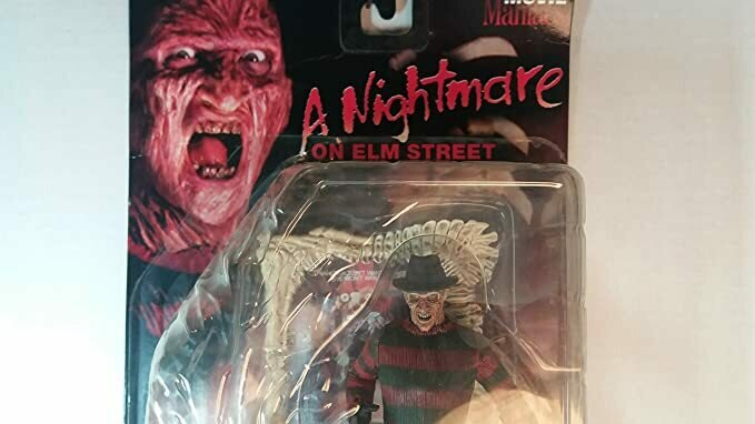 Movie Maniacs 1: Freddy Krueger - A Nightmare On Elm Street Action Figure