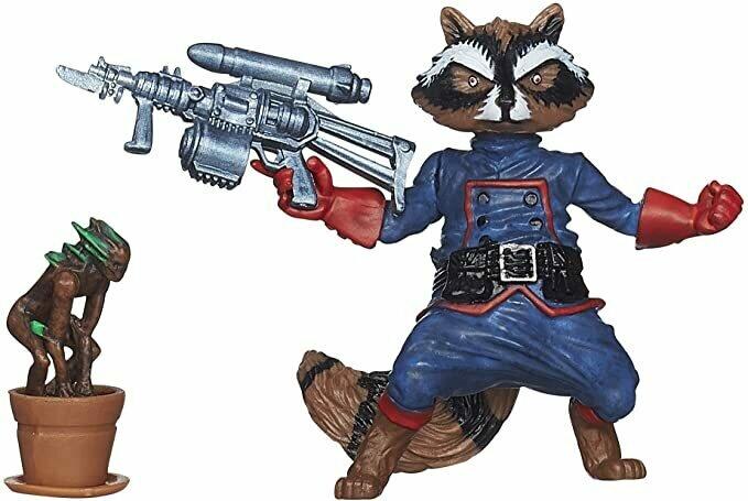 "Marvel Infinite Series Rocket Raccoon Figure, 3.75"""