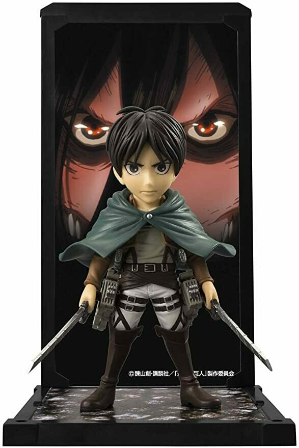 "Bandai Tamashii Nations Buddies Eren Yeager ""Attack on Titan"" Action Figure"