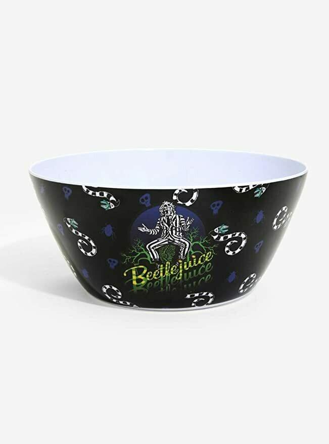 Beetlejuice Sandworm Melamine Bowl