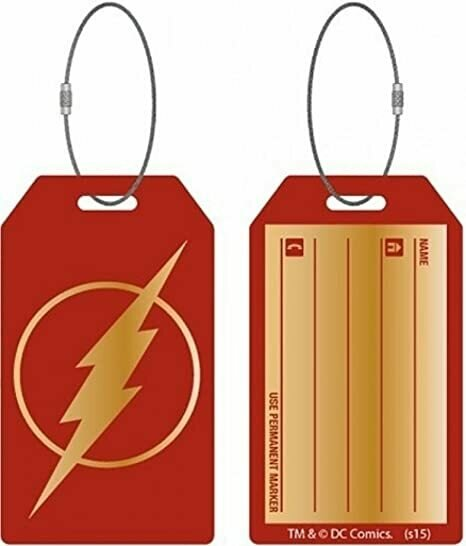 Bioworld DC Comics Flash Aluminum Bag Tag (Flash)