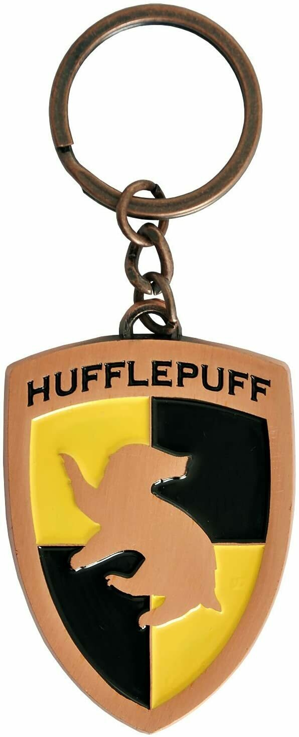 Bioworld Harry Potter Hufflepuff Key Chain