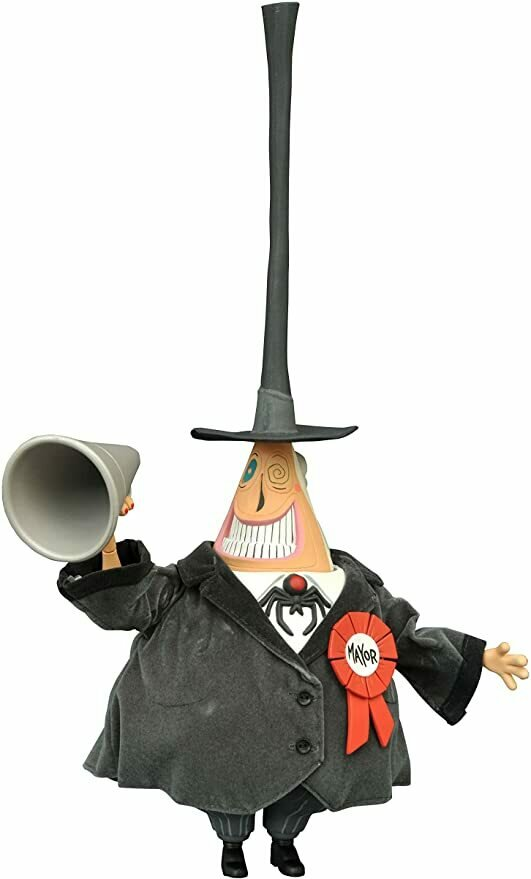 Diamond Select Toys The Nightmare Before Christmas: The Mayor Deluxe Cloth Doll