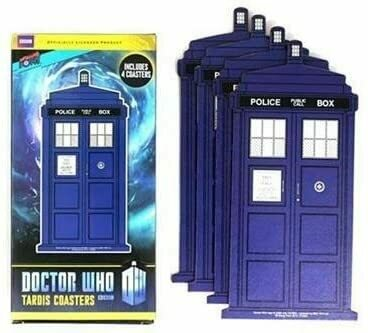 Doctor Who Tardis Coasters (4-pack)