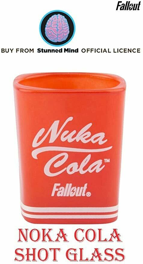 Fallout Nuka Cola Square Shot Glass