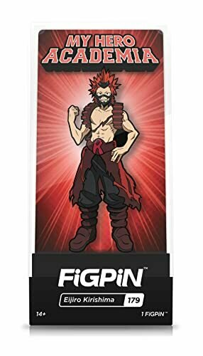 FiGPiN My Hero Academia: Eijiro Kirishima - Not Machine Specific [video game]