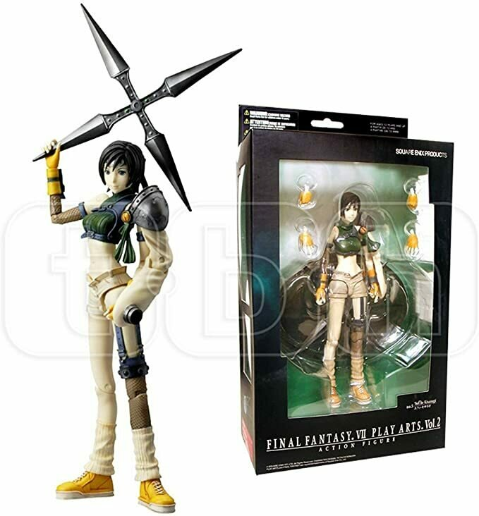 FINAL FANTASY VII PLAY ARTS VOL 2 YUFFIE KISARAGI